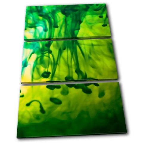 Ink Emerald Green Abstract - 13-0004(00B)-TR32-PO